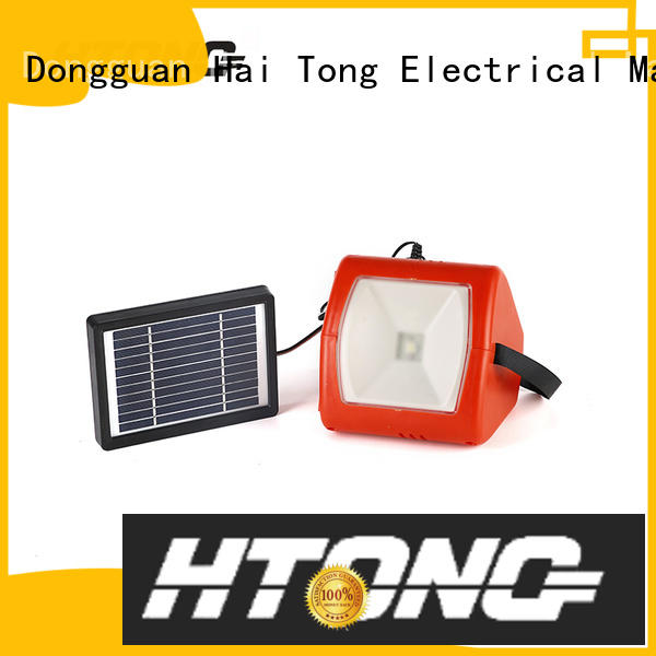 stable outside solar lights panel promotion for family banquet