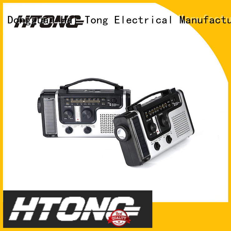 Hai Tong rechargeable dynamo radio on sale for hotel