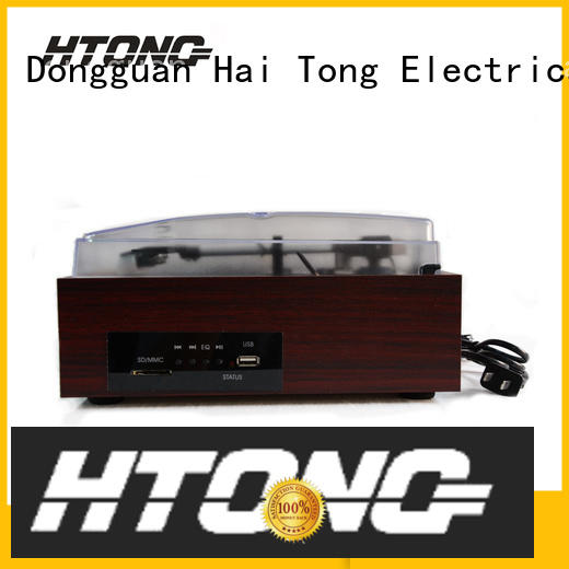 Hai Tong elegant antique wooden gramophone design for hotel