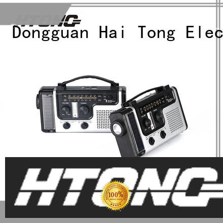 Hai Tong simple solar emergency radio ht777 for home