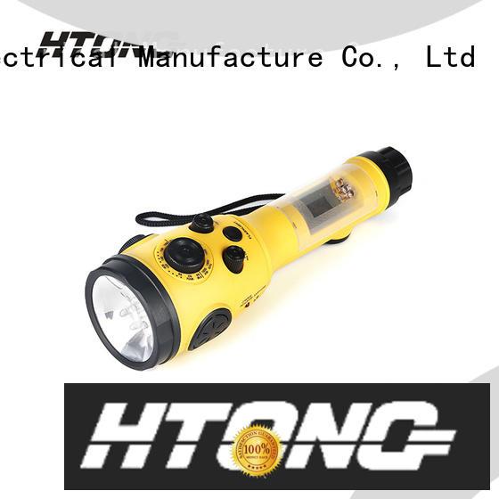 efficient emergency flashlight radio player for home