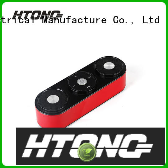 Hai Tong wireless loudest portable bluetooth speaker factory price for indoor