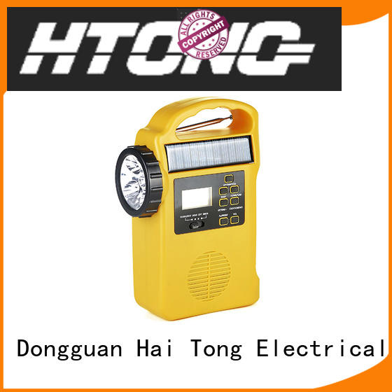 Hai Tong crank best emergency radio promotion for home
