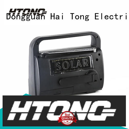Hai Tong outdoor dynamo and solar radio easy to use for house