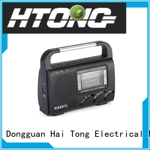 Hai Tong vintage solar power radio factory price for home