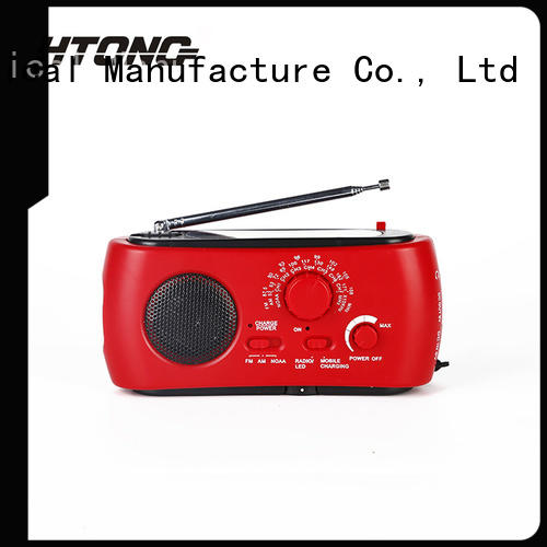 HTong portable dynamo radio easy to use for hotel