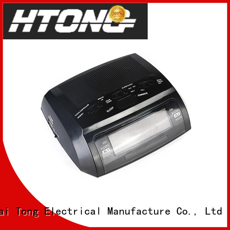 Hai Tong reliable am fm clock radio customized for hotel