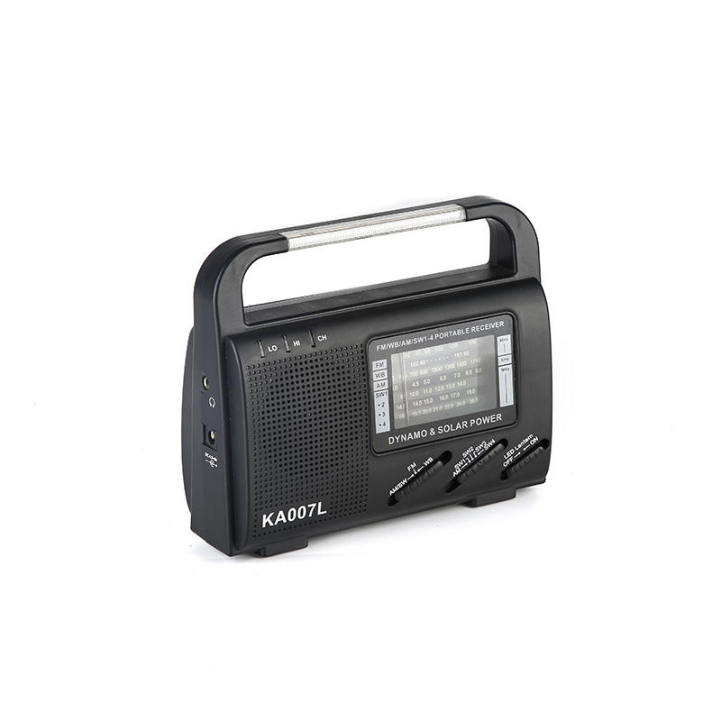 HTong outdoor solar hand crank radio on sale for outdoor-3