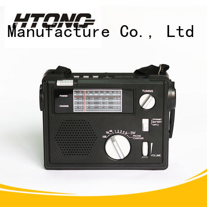 Hai Tong rechargeable emergency crank radio directly price for home