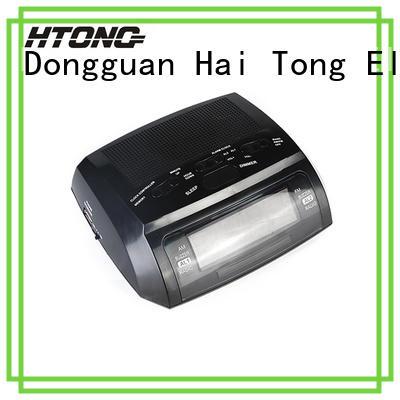 HTong fm radio alarm clock customized for apartment