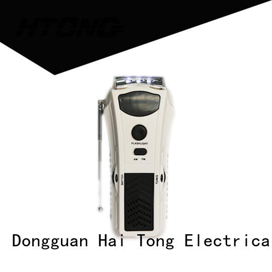 efficient emergency crank radio ht3038 player for home