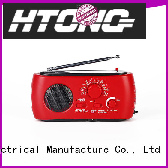 Hai Tong ht666 solar emergency radio from China for home