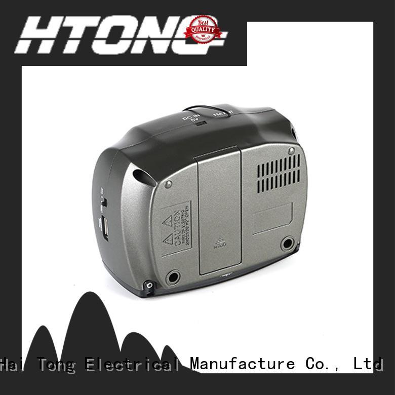 Hai Tong hot selling digital radio alarm clock customized for hotel