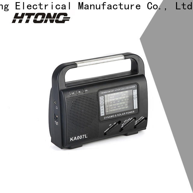 HTong professional dynamo and solar radio easy to use for outdoor