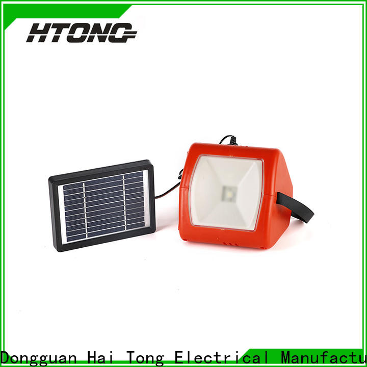 durable solar camping lights hts300 promotion for hotel