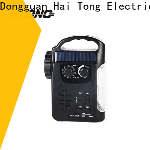 HTong portable emergency radio on sale for home