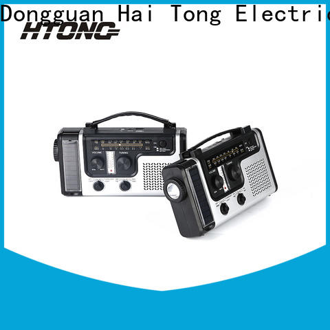 HTong torch solar radio on sale for hotel