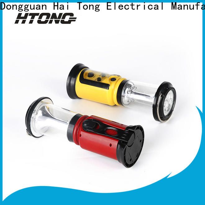 HTong dance hand crank emergency radio online for family banquet