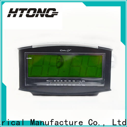 HTong electronic am fm clock radio series for hotel