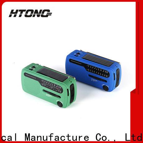 HTong noaa solar hand crank radio on sale for house