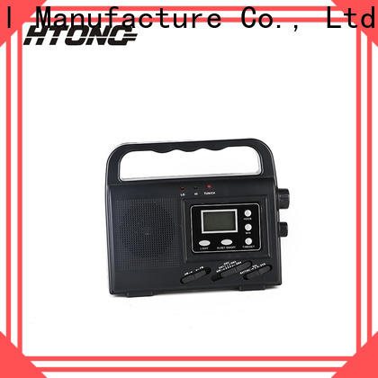 HTong portable emergency radio on sale for house