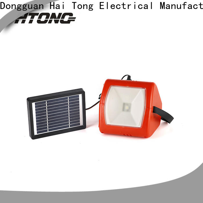 HTong solar solar camping lights promotion for indoor