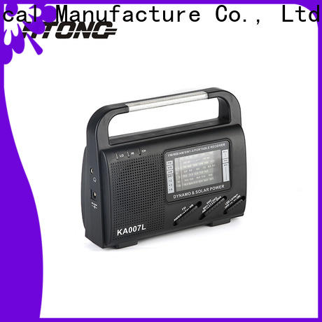 HTong simple solar emergency radio promotion for outdoor