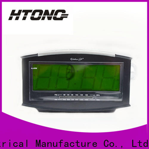 durable clock radio ht002 directly sale for hotel