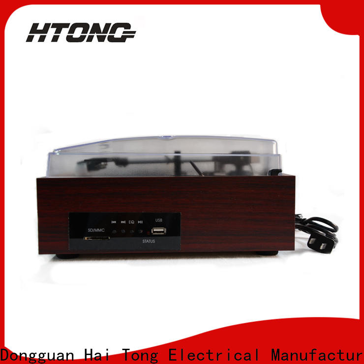 HTong wooden antique gramophone supplier for hotel