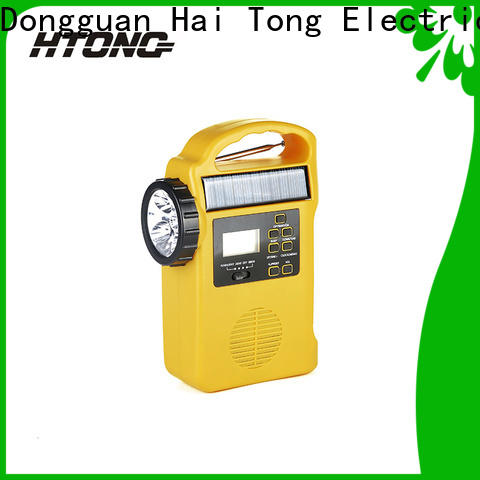 HTong professional dynamo and solar radio promotion for house