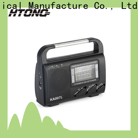 HTong professional solar radio on sale for outdoor