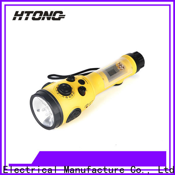 HTong charging emergency crank radio player for family banquet