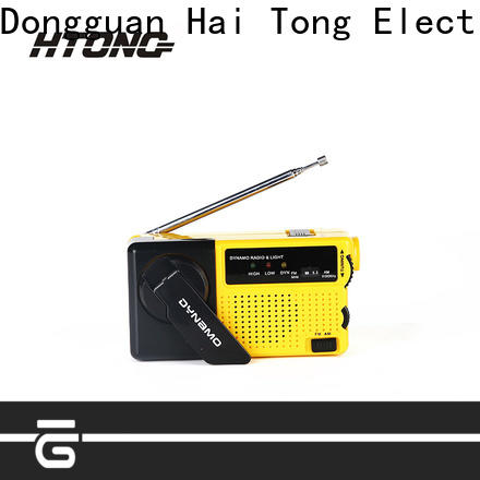 HTong am hand crank emergency radio design for family banquet