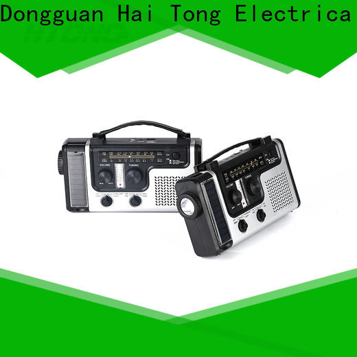 HTong word solar power radio from China for outdoor
