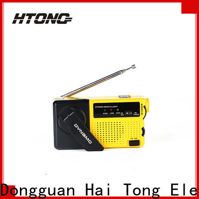 long lasting hand crank emergency radio powered directly price for hotel