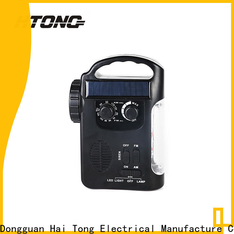 HTong super solar crank radio promotion for hotel