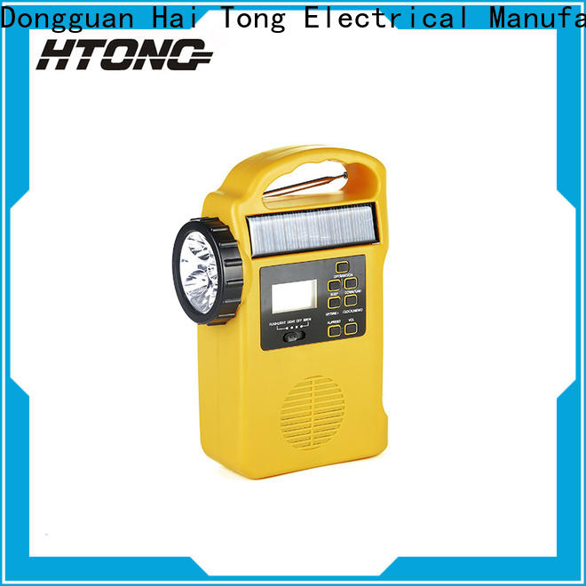 HTong phone dynamo radio factory price for hotel