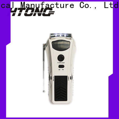 HTong ht3038 emergency crank radio player for indoor