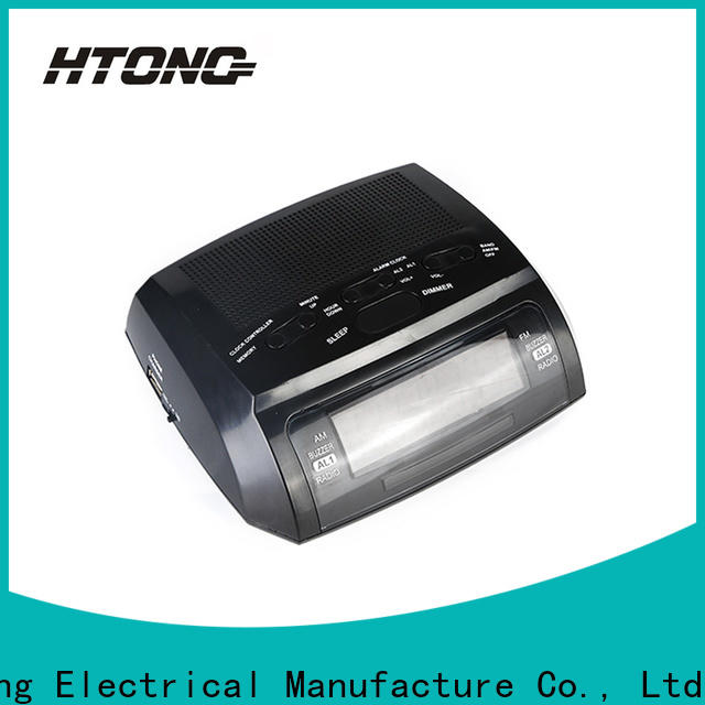 HTong durable radio alarm clock from China for hotel