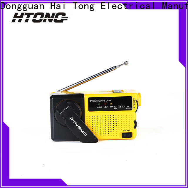 HTong efficient best crank radio player for family banquet