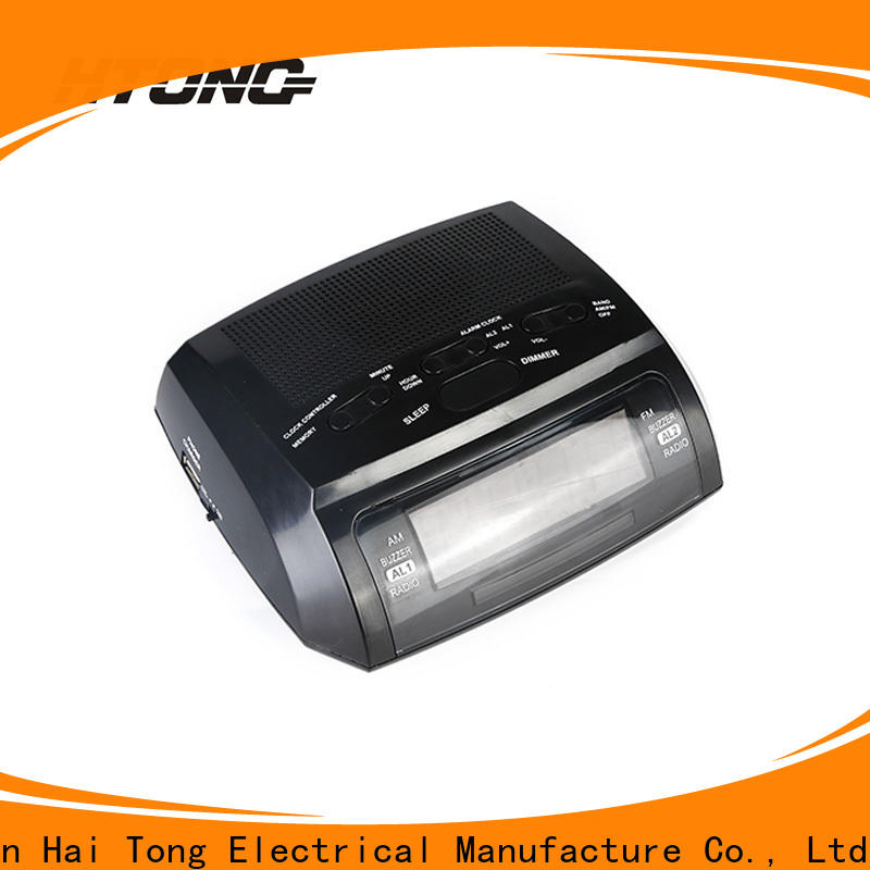 HTong practical clock radio manufacturer for family
