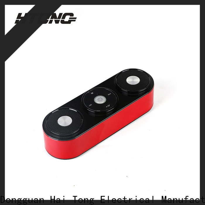 HTong fidelity loudest portable bluetooth speaker directly price for hotel