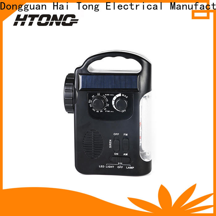 HTong portable solar radio on sale for hotel