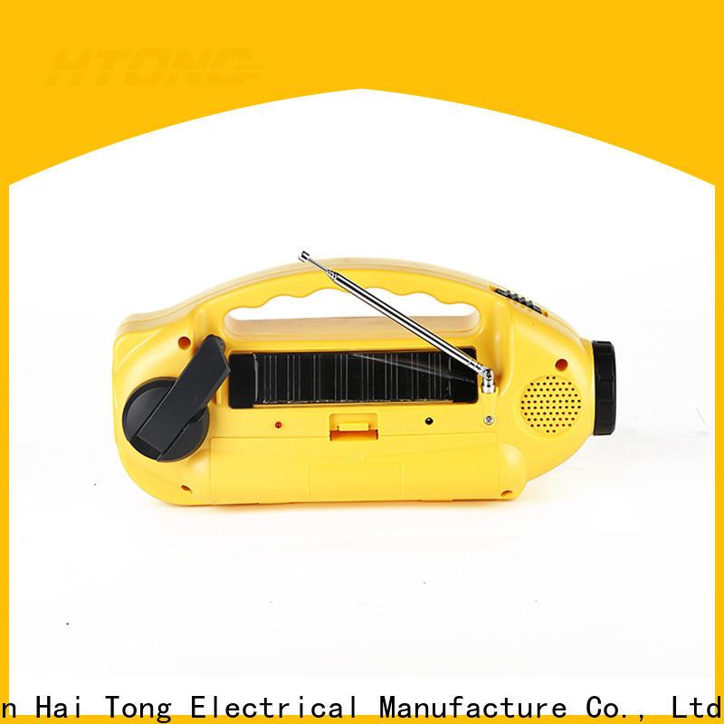 good quality solar emergency radio dynamo promotion for outdoor