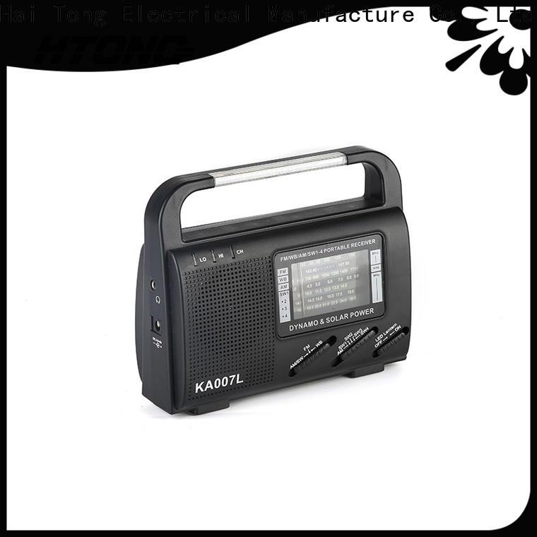 vintage solar crank radio flashlight easy to use for outdoor