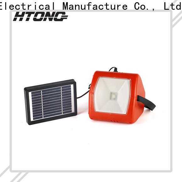 HTong hts300 multifunctional solar light supplier for hotel